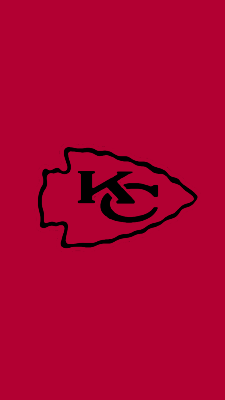 Minimalistic Nfl Backgrounds Afc West In 2020 Kansas City Chiefs Logo Kansas City Chiefs Chiefs Wallpaper
