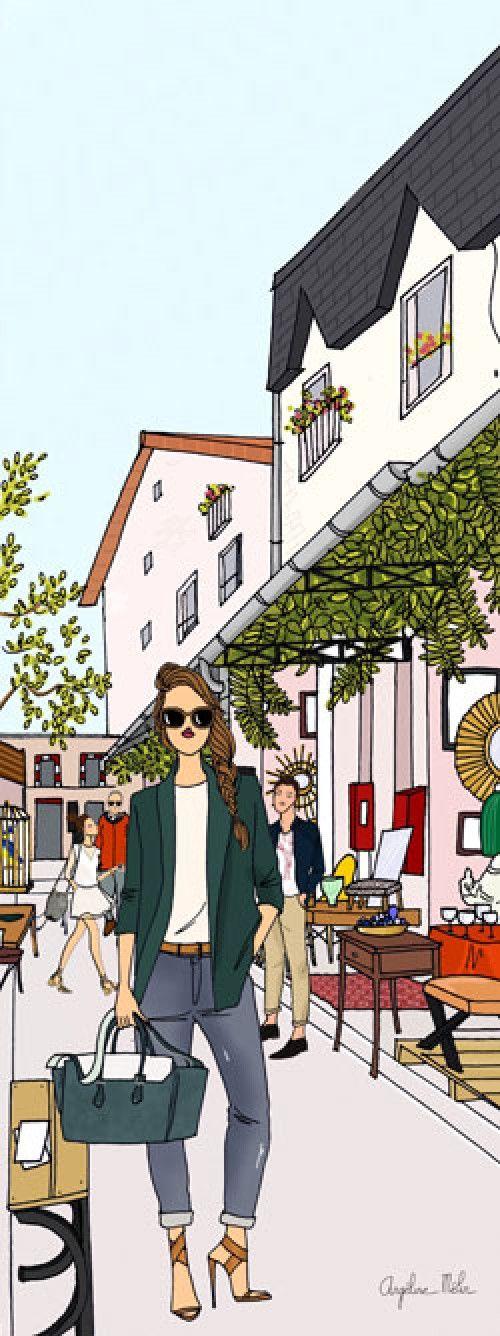 C'est le nouveau triangle d'or des hipsters le week-end ! Au cœur du petit pâté de maison des marchés Serpette, Dauphine et Paul Bert, les nouvelles galeries d'art contemporains, les coffee-shop et les boutiques de curiosités vintage pullulent et donnent aux puces des airs de «Williamsburg » !