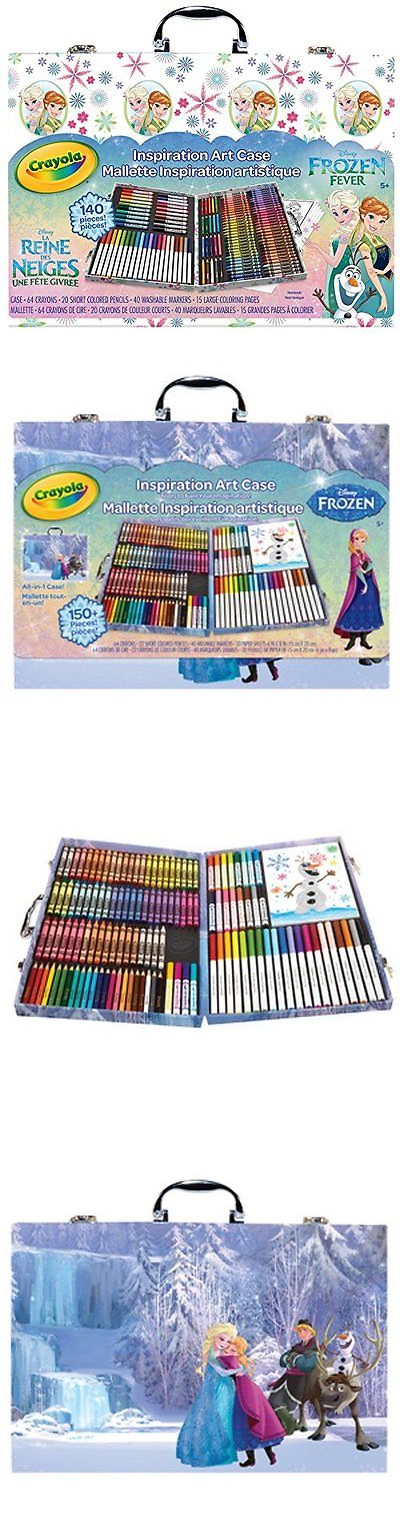 Crayons 116653: Crayola Frozen Inspiration Art Case, Styles May Vary ...