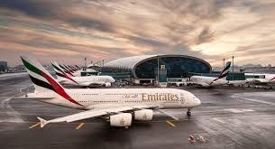 EK  A380 & dubai airport