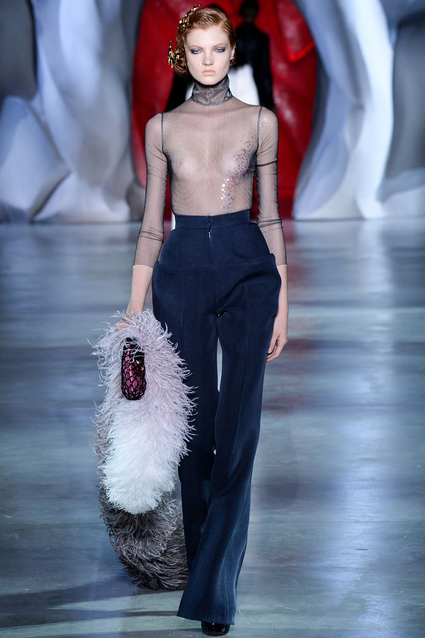 Ulyana Sergeenko Fall 2014 Couture - Collection - Gallery - Look - Style.com