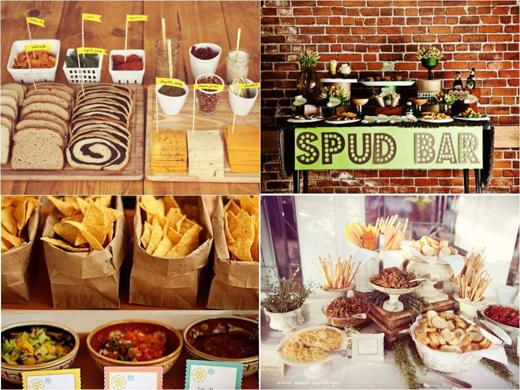 Baked Potato Bar Wedding Savoury wedding food station | Fred & DC\'s ...