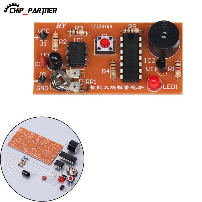 $199 - Diy Kits Dc 5V Infrared Flame Sensor Alarm Module Suite