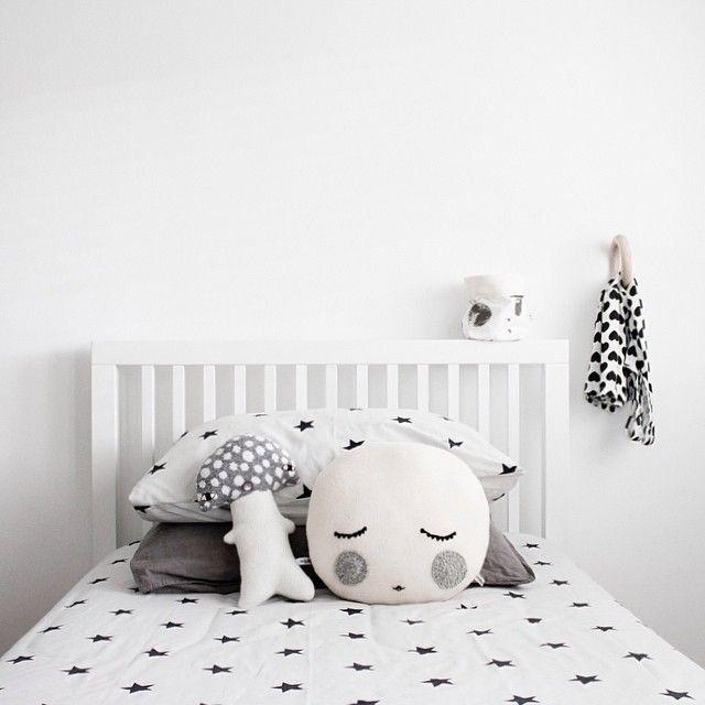 Chambre d\u0027enfant en noir et blanc En noir, Chambres et Enfants