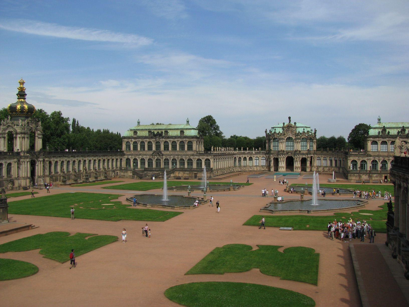 Zwinger Palace Dresden Germany Dresdner Zwinger Dresden Sachsische Schweiz