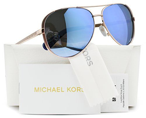 074f0fd3d2b Michael Kors MK5004 Chelsea Polarized Sunglasses Rose Gold wPurple Mirror  100322 MK 5004 100322 59mm Authentic     You can find out more details at  the link ...