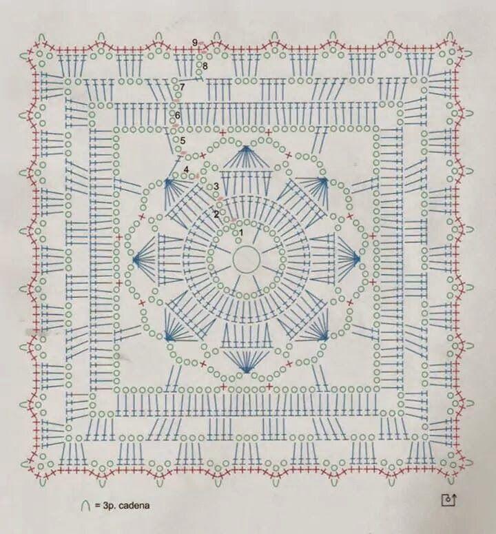 lo spazio di lilla: Schemi di motivi all\'uncinetto / Crochet motifs ...