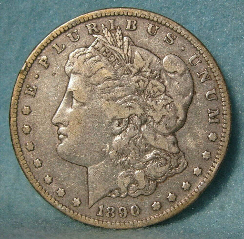Details About 1890 Cc Carson City Mint Morgan Silver Dollar United States Coin In 2020 Morgan Silver Dollar Coins Carson City