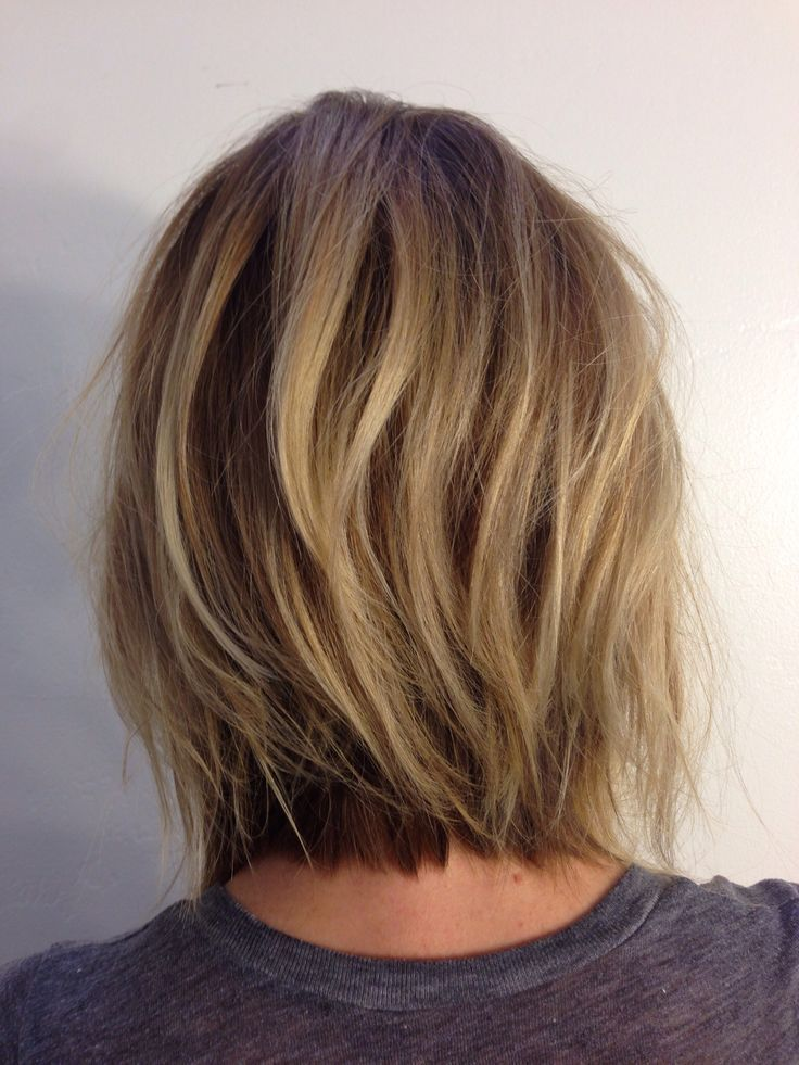 Pin by nicki on hair pinterest layered bobs bob hairstyle and andreamillerhair neck length layers love the color too winobraniefo Choice Image