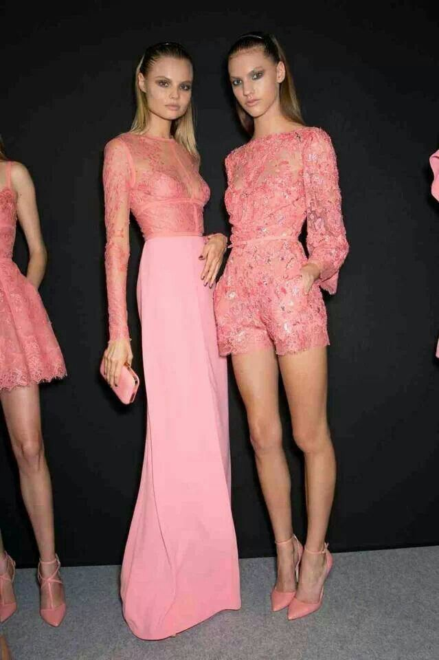 Ellie saab 2014. love the one on the left! | Passion for fashion ...