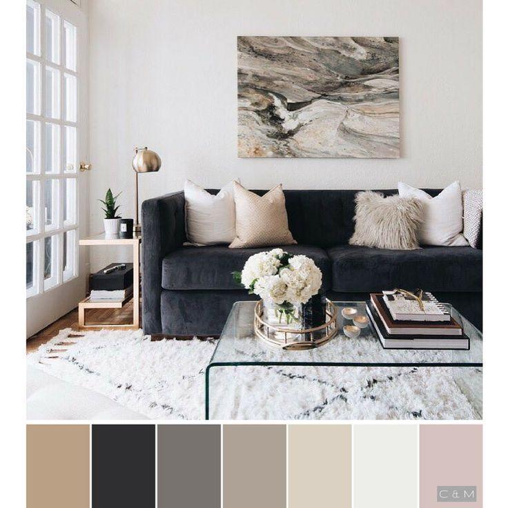 Taupe Farbe Dekorative Ideen Für Ihr Zuhause: Black, Brown, Beige, White