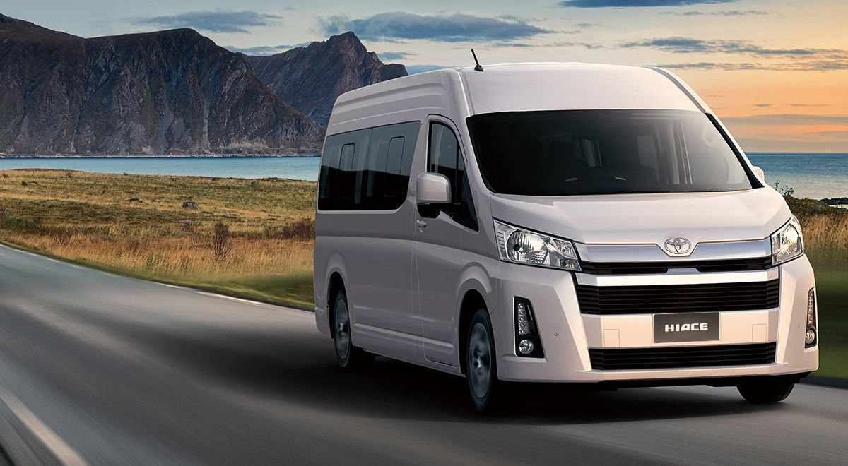 The New Toyota Hiace Had Its Main Debut Recently In The Philippines And It Appears As Numerous Fantastic Novelties Featured It The Popular Van Has Been Around