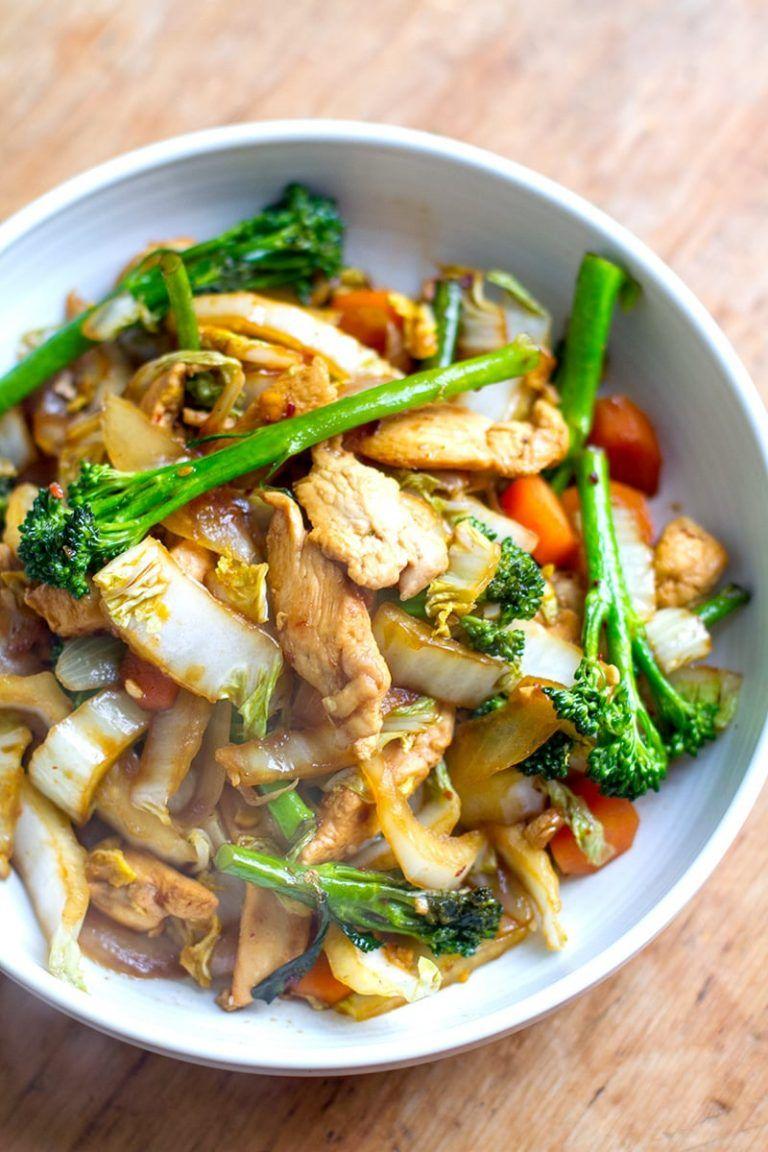 Quick Easy Chicken Cabbage Stir Fry Easy Chicken Recipes