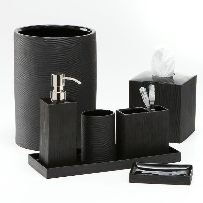 Bathroom Accessories 41 White Set Toilet Dark Gray Black