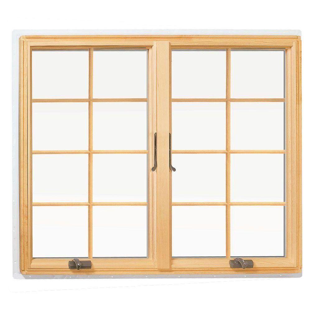 Andersen 48 In X 48 In 400 Series Casement Wood Window With