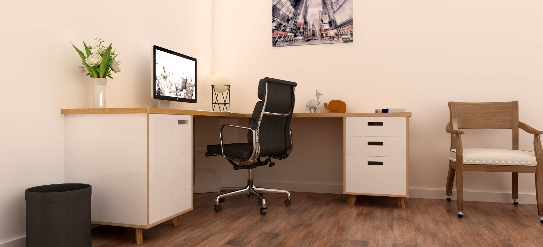 corner desk consists of 1 bank of 3 drawers 1 filing drawer and 1 rh pinterest ca