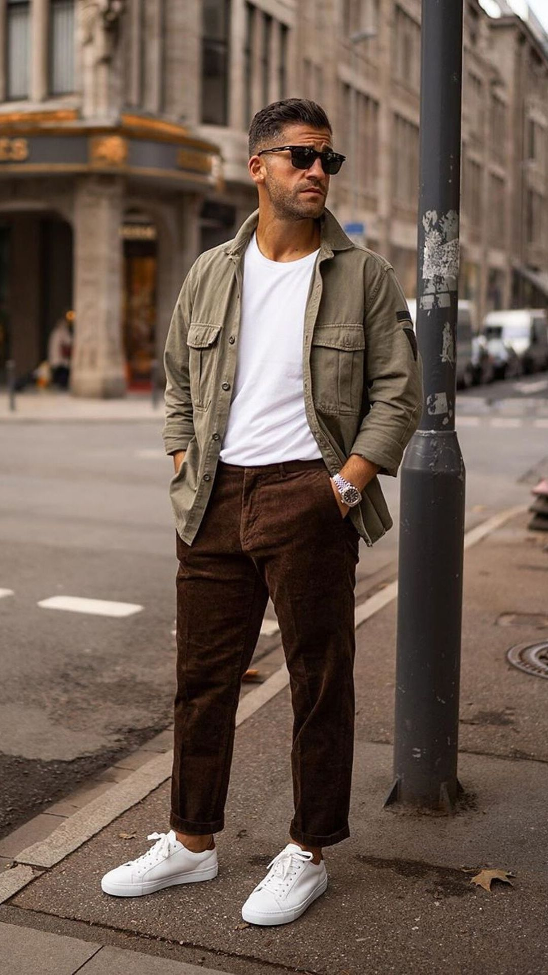 5 Casual Street Style Looks For Men #mensstyle