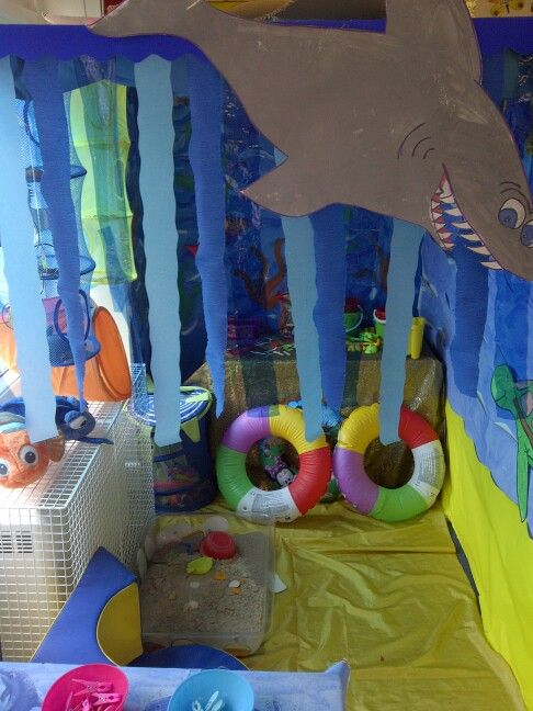Under the sea class room role play area