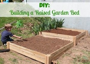 DIY: How to Build a Raised Garden Bed #DigIn @Home Depot #client