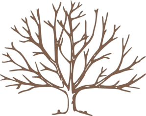 bare tree clip art brown bare tree clip art vector clip art rh pinterest com bare branch tree clipart bare tree clipart images
