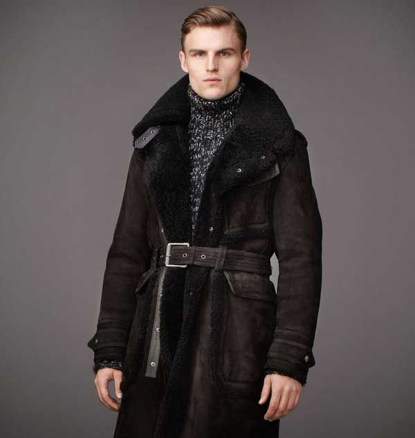 Belstaff fur coat, is all the rage this winter 2012 | Men