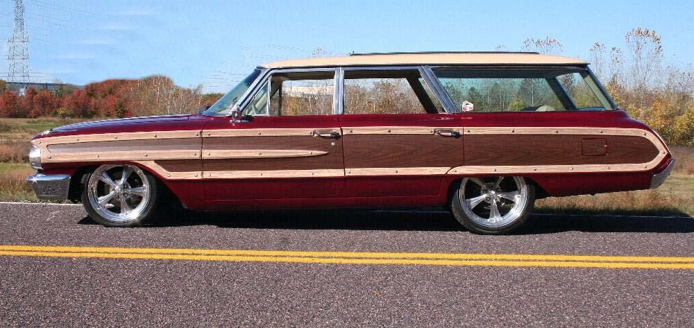 Surf rods - 1964 FORD COUNTRY SQUIRE Lot 350 Barrett-Jackson Auction Company