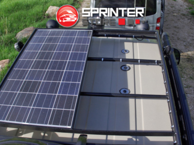 Ford Transit Aluminess Solor Roof Rack Ecoline Van Ford Transit Roof Rack Solar