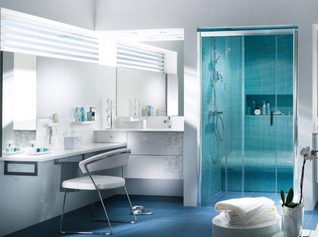 Salle de bains mobalpa BLEU | La maison | Pinterest | Mobalpa ...