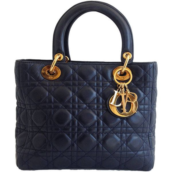 Dior Lady Dior In Brown Quilted Leather iBe6Cqso