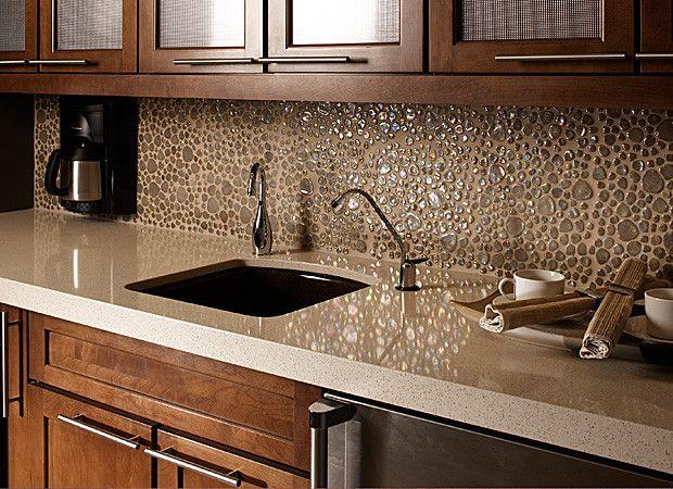 fairfax kitchens and bathrooms | daltile pebbles pb07 wheat