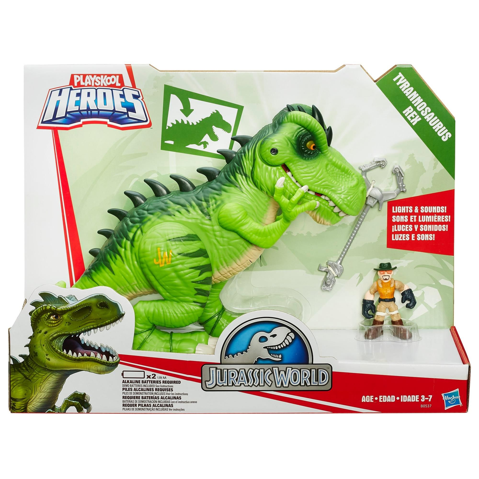 Amazon Com Playskool Heroes Jurassic World T Rex Figure Discontinued By Manufacturer Toys Gam In 2020 Jurassic World T Rex Jurassic World Jurassic World Dinosaurs