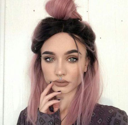 20 Ideas Hair Dark Roots Curls For 2019 Hair Styles Ombre Hair Color Dark Hair