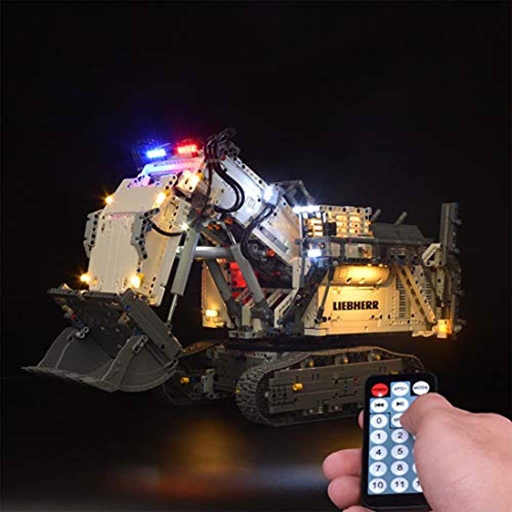 Idkii Klassisch Beleuchtungsset Led Kabel Kit Fur Lego Technic 42100 Liebherr Bagger R9800 Lego Modell Nicht Enthalten Spielze In 2020 Lego Technic Lego Badespielzeug