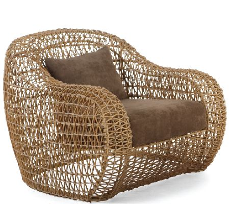 Kenneth Cobonpue  Collections  BALOU  Easy Armchair Furniture - Balou Rattan Mobel Kenneth Cobonpue