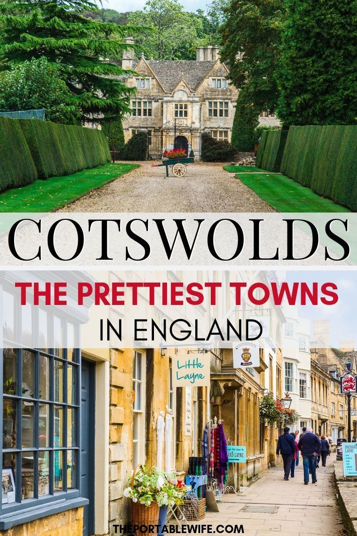 Visit beautiful Cotswolds England in one day with this Cotswolds day trip itinerary. The Cotswolds villages of Castle Combe, Slaughter, Chipping Campden, and Painswick are full of charming English cottages and lovely cobblestone streets. Spend a day exploring this beautiful UK travel destination on your next England vacation! #europetravel #uk #wanderlust