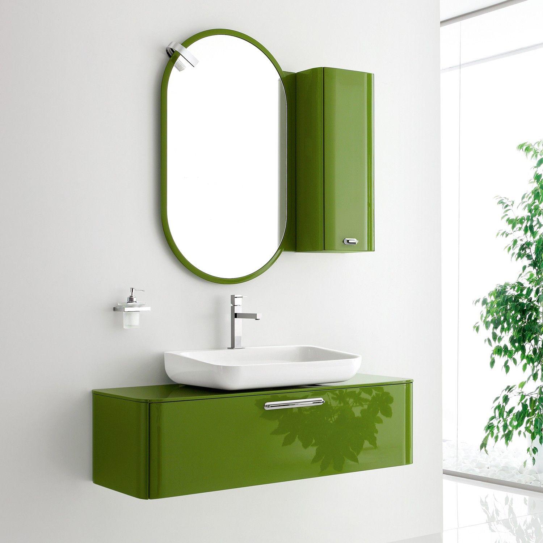 Beautiful green Arblu vanity. | Bathrooms | Pinterest | Vanities ...