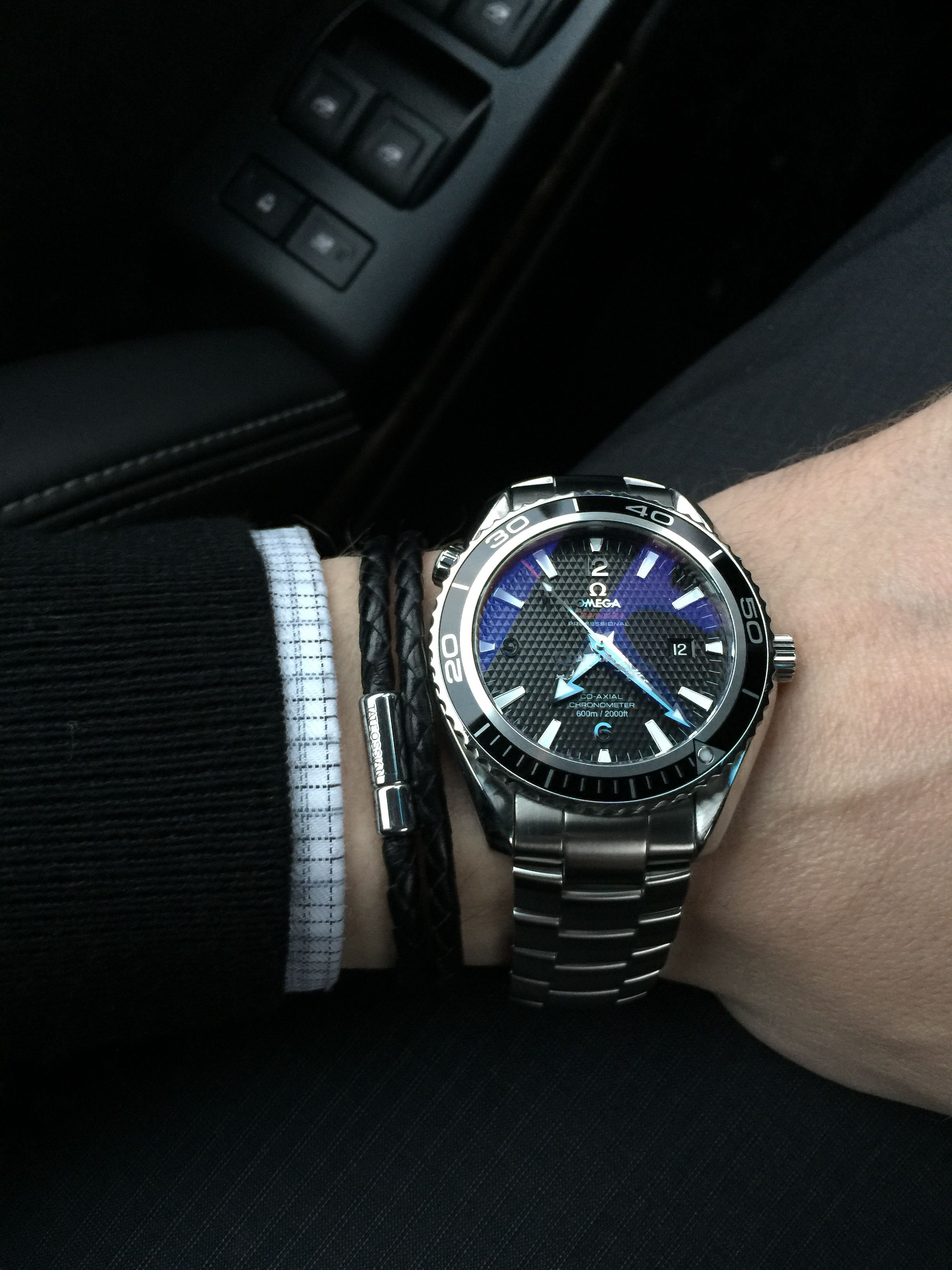 Omega Planet Ocean  Omega James Bond 007   Mens Watches and Bracelet Man's Jewellery and Accessories  Fashion # Men watches and bracelet