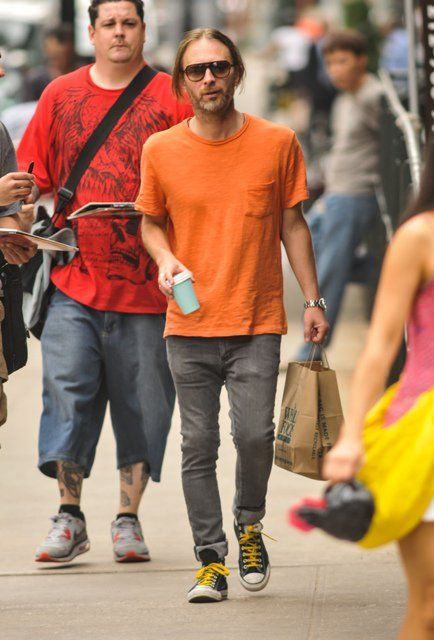 72b0b6f61 Thom Yorke of Radiohead out and about in New York City 116098 ...