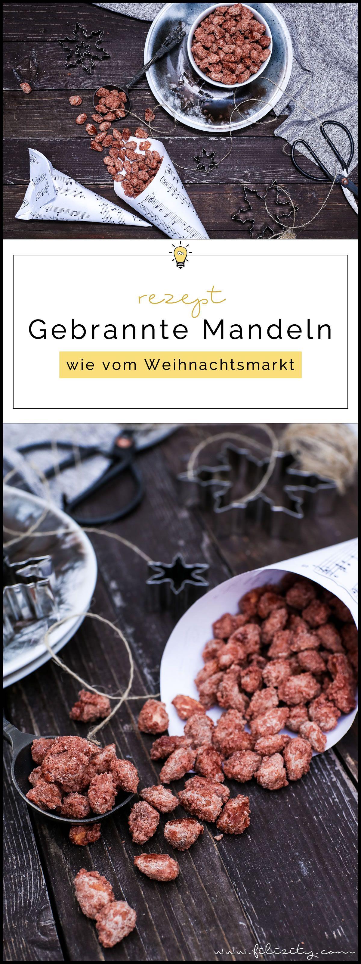 Gebrannte Mandeln wie vom Weihnachtsmarkt | Filizity.com | Food-Blog aus dem Rheinland