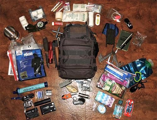 Private access stimulated prepper survival supplies