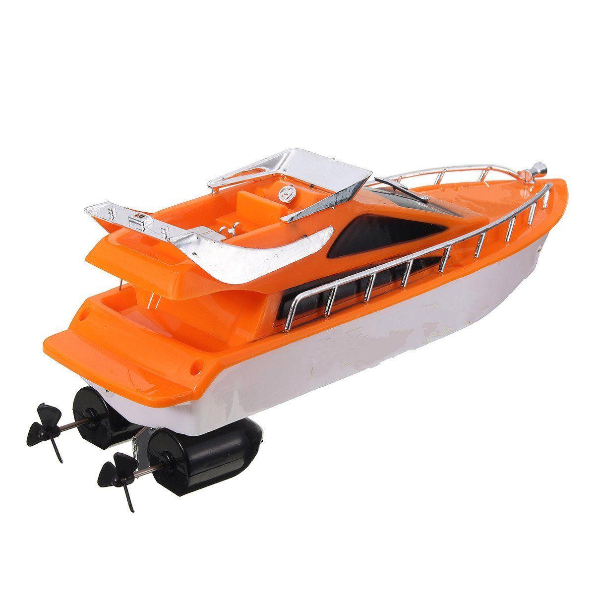 30 26x7.5x9cm Orange Plastic Electric Remote Control Kid Chirdren Toy Speed Boat