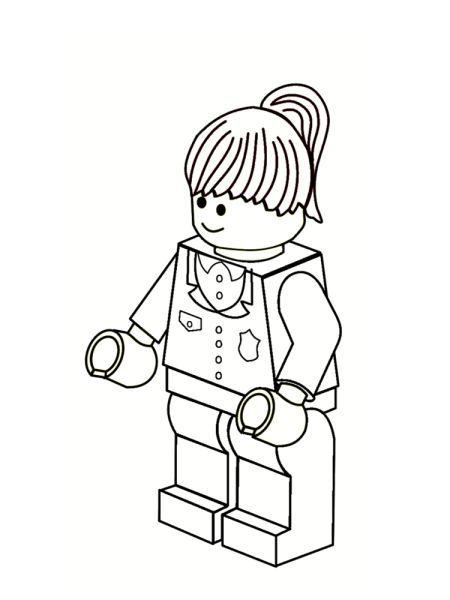 coloriage lego - Coloriage Lego