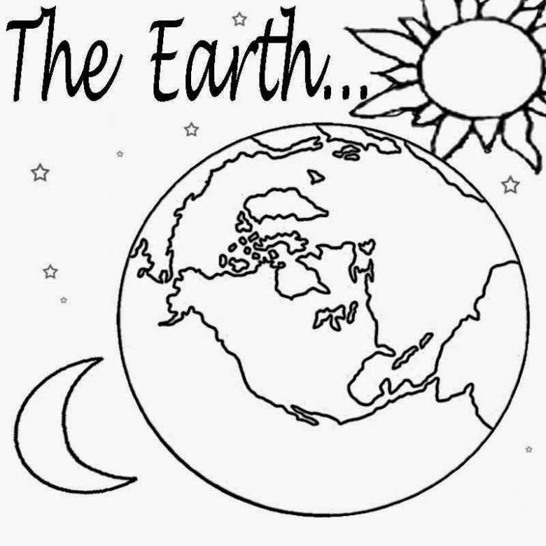 Pianeta Terra Pianeti Pagine Da Colorare Per Bambini Pianeta Terra