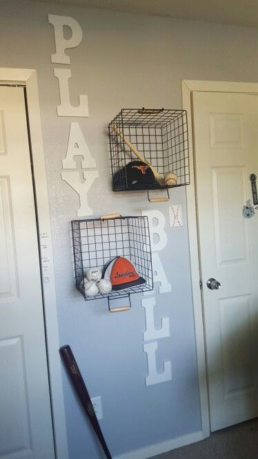 Boys Baseball Bedroom Ideas 20 cool diy shelf ideas to spruce up your boy's room wall | sports
