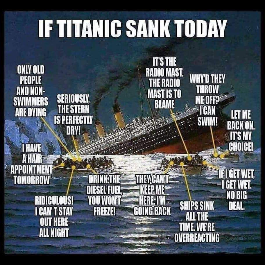 Kaarina Kreus On Twitter Sick Humor Titanic Just For Laughs