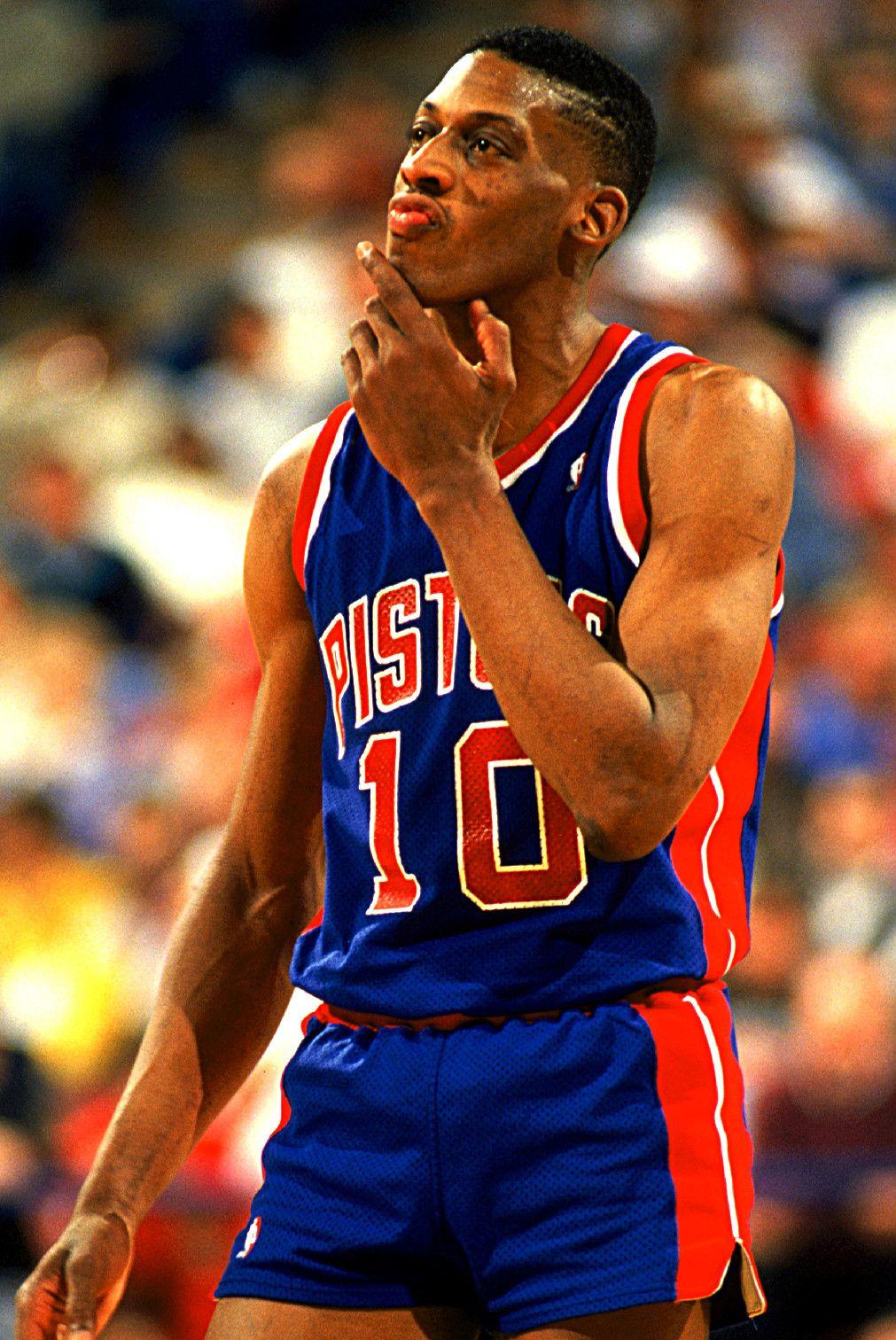 Wholesale Dennis Rodman Detroit Pistons | Basketball | Pistons basketball  xckJScCb