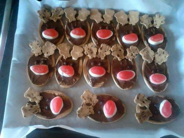 Rudolph cookies yummmmm