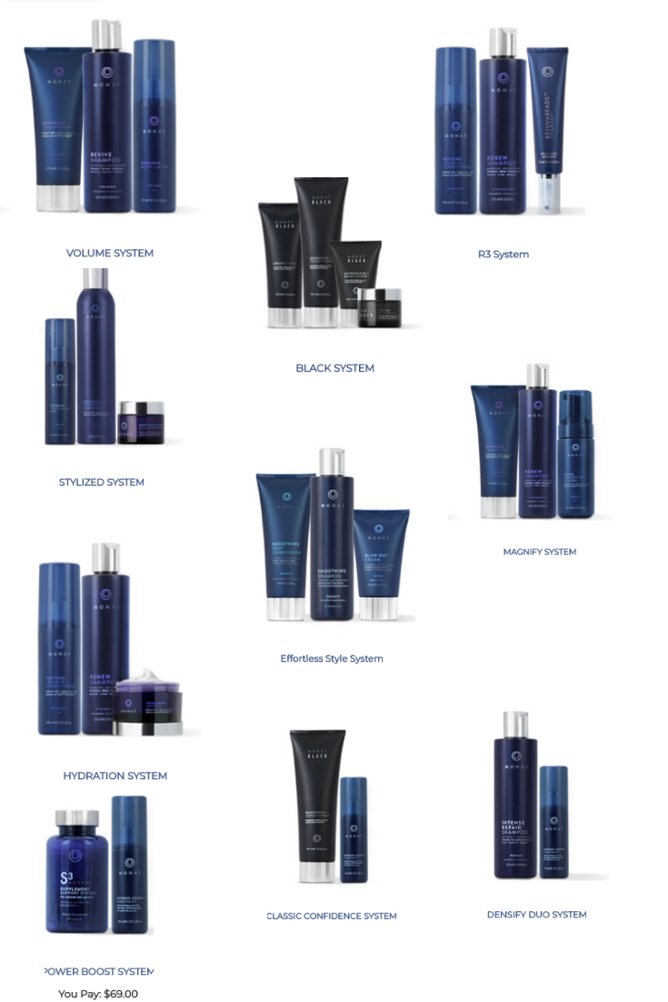 Click on the photo to see prices of different monat