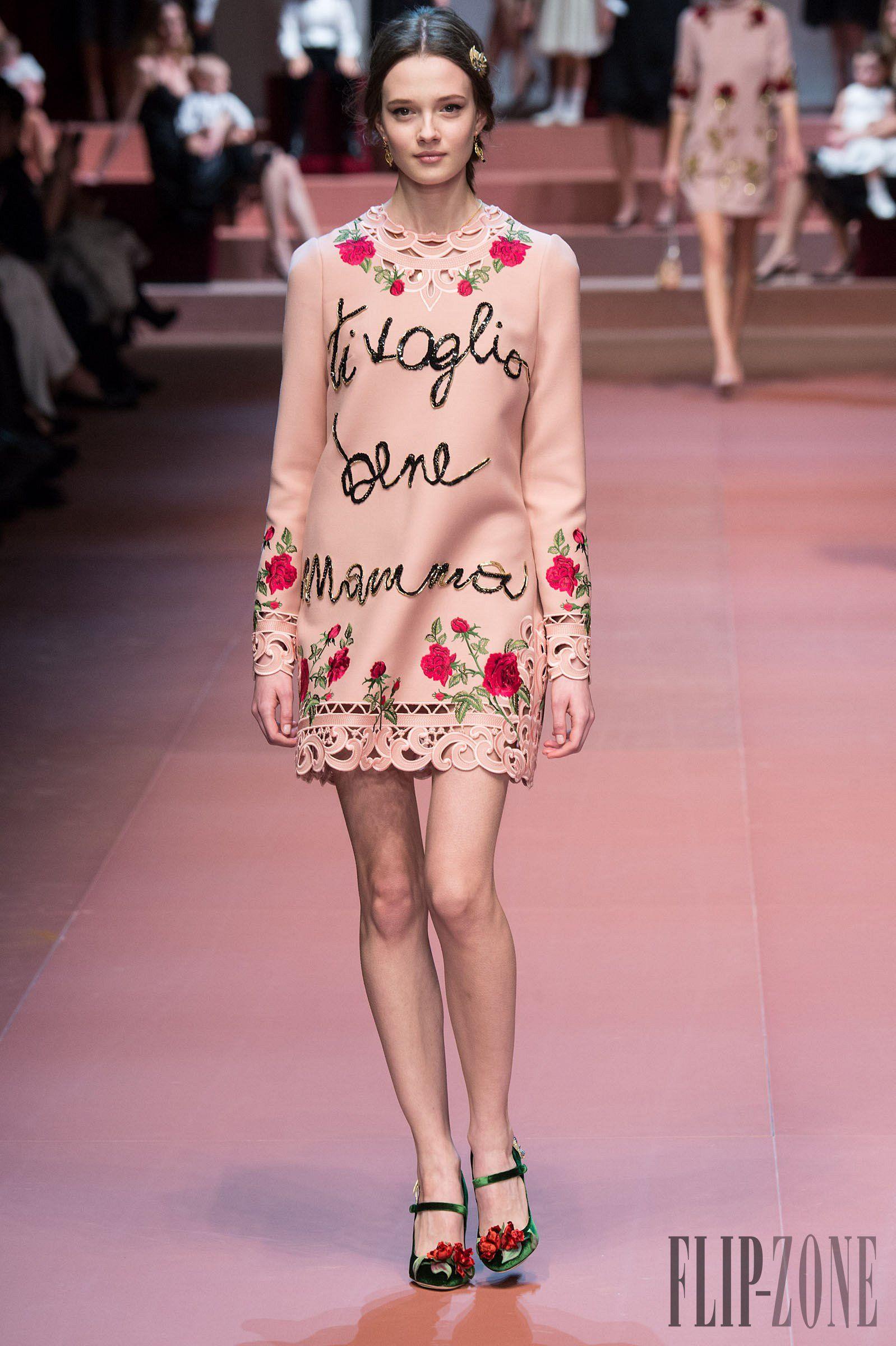 Dolce & Gabbana Outono-Inverno 2015-2016 - Prêt-à-porter