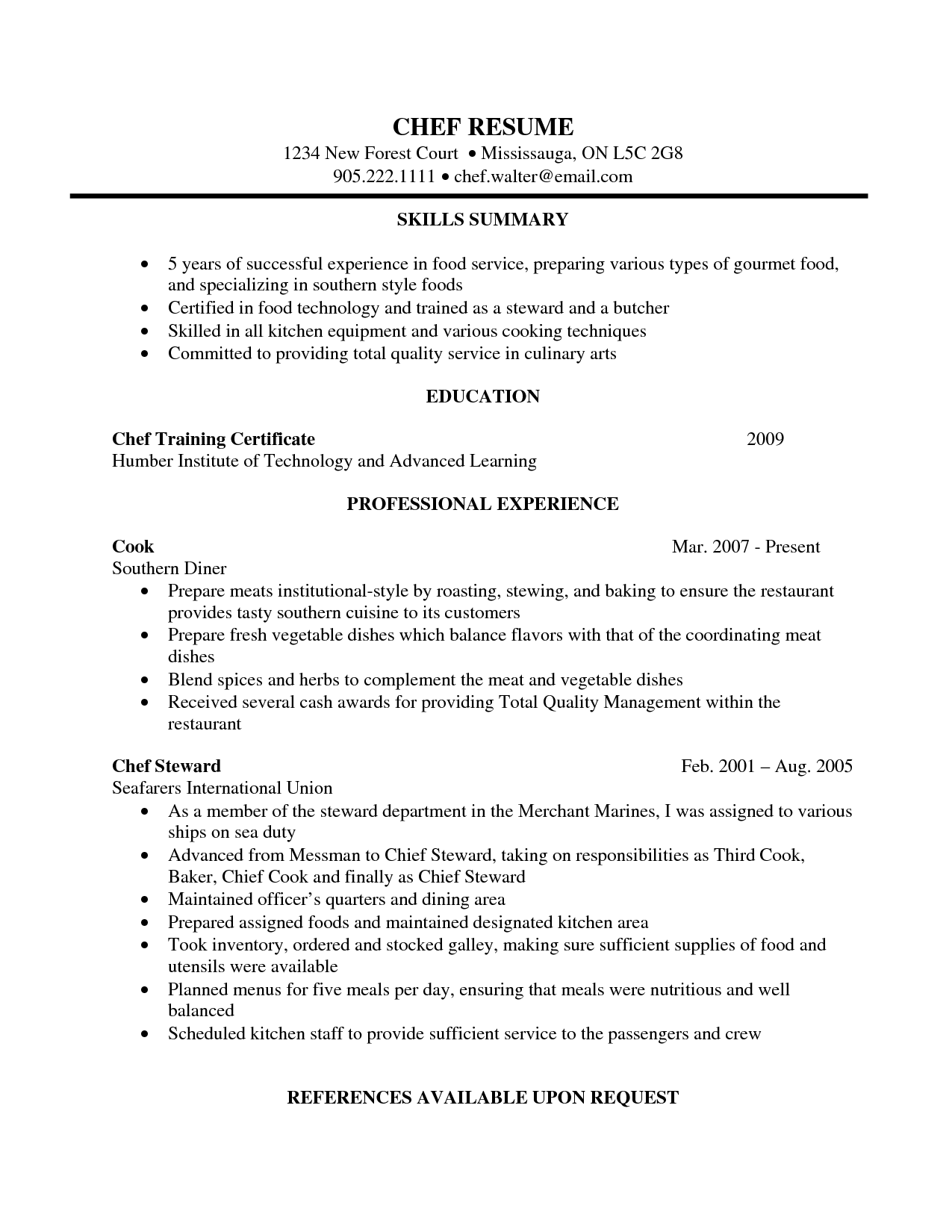 cook supervisor sample resume payroll analyst cover letter